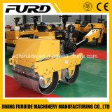 Double Drum Hand Mini Road Roller Compactor (FYLJ-S600C)