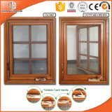 USA California Design Wood Aluminium Casement Window with Sdl