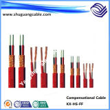 Tinned Conductor/F Plastic Insulation/Individual Screen/PVC Sheath/Compensational Cable