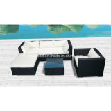 Outdoor Rattan Furniture for Bar, Garden, Hotel with Aluminum Frame / SGS (8202P)