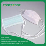 White & Green & Pink Non Woven Fabric Disposable Face Mask