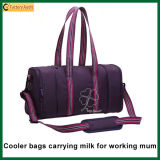 Insulated Duffel Lady Lunch Cooler Bag Mummy Baby Bag Milk Bag Back (TP-CB344)
