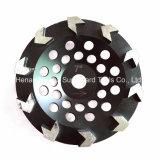 Arrow-Segment Diamond Cup Wheel for Concrete Floor Preparation