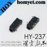 2.5mm 5pin SMD Phone Jack/AV Jack/Audio Jack (HY-237)