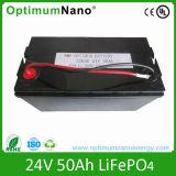 24V 50ah LiFePO4 Battery, Environment Friendly Solar Storage Battery Pack