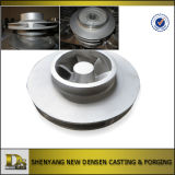 Customized Stainless Steel Investment Casting Closed Impeller for Pump
