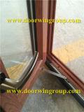 Canada Solid Oak Wood Aluminum Casement Window