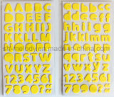 Multicolor Medium Alphabets Foam Stickers Perfect for Scrapbooking and Papercrafts