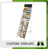 Design Professional Metal Wire Literature Display Shelves