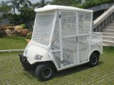 Electric 2 Seaters White Elctric Pick-up Ball Car