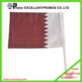 Polyester Hand Held Flagscreen Printing National Flag (EP-F7165)