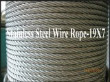 8.0mm 19x7 AISI 316 Stainless Steel Strand Wire Rope and Cables