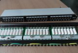 """FTP STP CAT6 19"""" 24 Port RJ45 Patch Panel (P199-24)"""