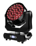 New Arrival Osram Super Fast 37LEDs 15W 4in1 RGBW LED Zoom Moving Head Light Stage Disco Wash Effect for Event Party Concert