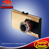 "H08 3"" LCD FHD Ultra-Thin Car DVR Vehicle Camcorder Night Vision Dash Cam Camera Digital Video Recorder Golden & Gray"