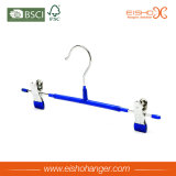 Special Design PVC Metal Hanger with Clips (TS250)