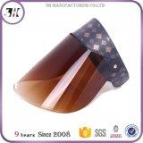 High Quality UV Transparent & Iridescent Color Sun Visors
