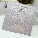 Full Color Offset Printing Custom Pearl Paper Invitation Card