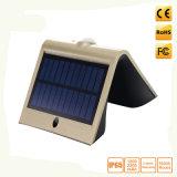 Solar Powered PIR Motion Sensor Security LED Wall Lamp
