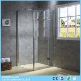 Modern Design Pivot Hinged Glass Shower Box (9-3590)