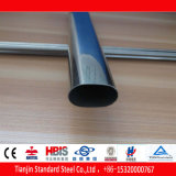 Welded Flat Oval Stainless Steel Tube (304 316 316L 310S)