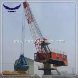 Port Fixed Crane with Clamshell Grab
