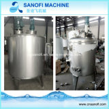 100-500 Gallon Steam Heating Mixing Tank/Pot (SUS304 or SS 316L)