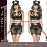Carnival Adult Girls Women Sexy Flapper Halloween Cop Costume (TCLP3022)