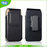 Mobile Phone Glossy Leather Waist Hang Case Cover Belt Holster Clip Pouch Sleeve