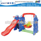 Plastic Outdoor Play Equipment Small Playground Sets (HF-20511)