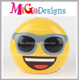 Emoji with Glasses OEM Money Bank New Year Ideas Decor