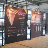 Exhibition Magic Tape Pop up Display Portable Backdrop Stand Banner