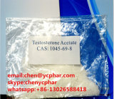 Testosterone Acetate for Muscle Building 1045-69-8 Male Sex Hormone