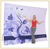 20FT Curved Portable Tension Fabric Background