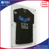 Lockable Large Soccer Jersey Acrylic Frame Panel for T Shirt