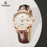 Hot Selling Thin Case Watch, 5ATM Waterproof Stainless Steel Watch, Casual Automatic Watch 72786