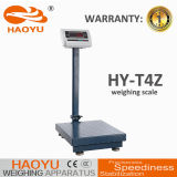 300kg Plastic Indicator Weighing Platfrom Digital Scale Carbon Steel Frame