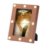 Plastic Craft Promotion Gift LED Decoration Photo Frame