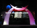 Wholesell Inflatable Decoration LED Lighting Arch for Weddings