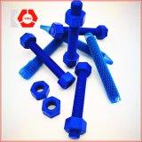 ASTM A193-B7 Zinc (blue) Plated Carbon Steel Thread Rod