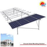 Custom T5-6000 Series Anodised Aluminium Ground Mount Solar Frames (300-0003)