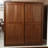 Bedroom Wardrobe Closet Wooden Armoire Dresser (GSP9-007)