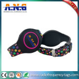 Colorful RFID PVC Bracelets with LED Light Watch for Event
