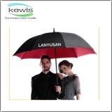 Black Plain Business Golf Umbrella for Outdoor