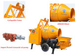 portable Concrete Mixer Pump Concrete with Drum Mixer Jbt40