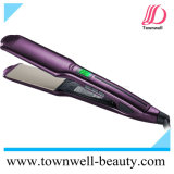 New Waterproof Flat Iron with Floating Nano Silver and Tourmaline Ceramic Coating Plates