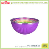 Multicolor Melamine Nesting Bowls with Lids