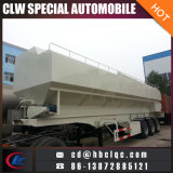 China 50m3 30mt Bulk Feed Trailer Fodder Transportation Tank Trailer