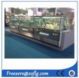 Italian Gelato Ice Cream Showcase / Ice Cream Freezers for Sale (CE approvel)