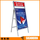 Highest Level OEM Production a Frame Sign Exhibition Equipment